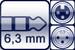 Klinke 3p.<br>XLR 3p. female/male