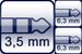Mini-Klinke 3p.<br>Winkel-Klinke 2p.