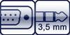 D-Sub<br>Mini-Klinke