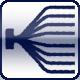 Powercon<br>XLR 3p. - DMX