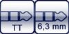 TT-Phone<br>Klinke 3p. 6,3mm