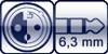 XLR-ConvertCon 3p.<br>Klinke 6,3mm 3p.