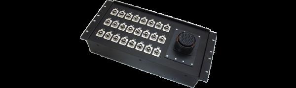 19''-Stagebox 24x XLR-fem., TL85 male