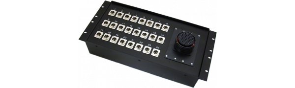 19''-Stagebox 24x XLR-male, TL85 male