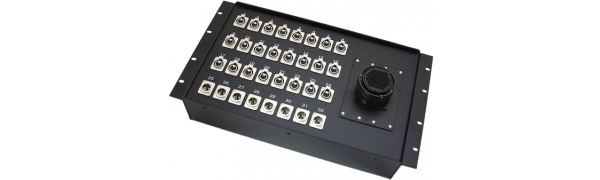 19''-Stagebox 24x XLR-fem./8x XLR-male, TL100 female