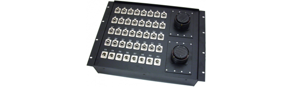 19''-Stagebox 32x XLR-fem./8x XLR-male, 2x TL150 male