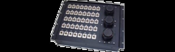 19''-Stagebox 32x XLR-fem./8x XLR-male, 3x TL150 male