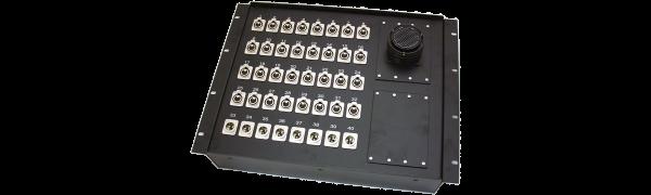 19''-Stagebox 32x XLR-fem./8x XLR-male, TL150 female