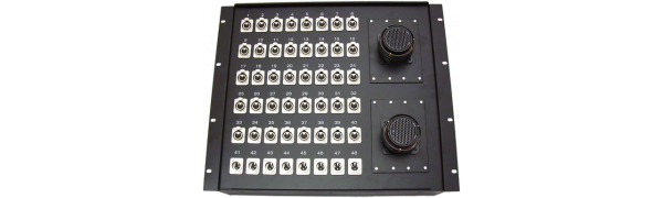 19''-Stagebox 40x XLR-fem./8x XLR-male, 2x TL150 female
