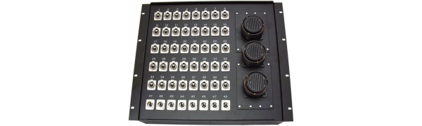 19''-Stagebox 40x XLR-fem./8x XLR-male, 3x TL150 female