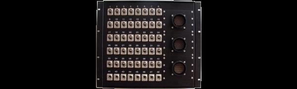 19''-Stagebox 40x XLR-fem./8x XLR-male, 3x TL150 male