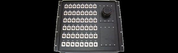 19''-Stagebox 40x XLR-fem./8x XLR-male, TL150 male