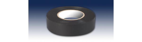 PVC-Zumpelband, schwarz -19 mm x 20 m