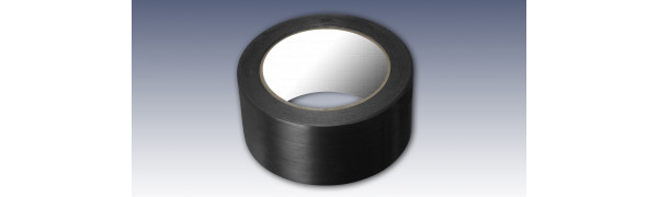Tanzbodenband / PVC-Markierungsband, 50 mm x 33 m, schwarz