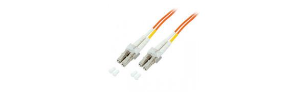 Duplex Adapterkabel SC/SC-50/125µ OM4, 1,0 m