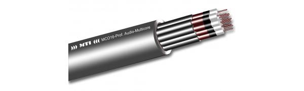MTI Prof. Audio Multicore, unsym., 16 Kanäle