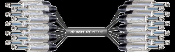 Monocore-Loom, 16x Neutrik  Klinke/Klinke
