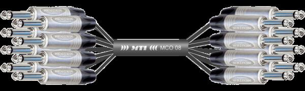 Monocore-Loom, Neutrik 8x Klinke/Klinke