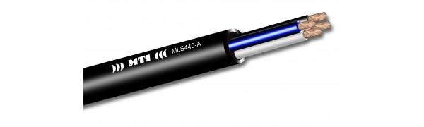 MTI Prof. Speaker-Multicore-Cable, 4x 4,0 mm² O.F.C., anthrazit