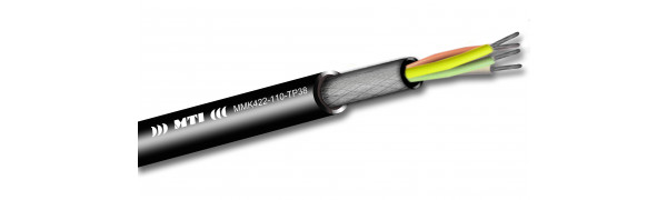 MTI Prof. Digital Micro-Cable, 1x4x0,22mm², 110 Ohm AES, sw, 500m Trommel