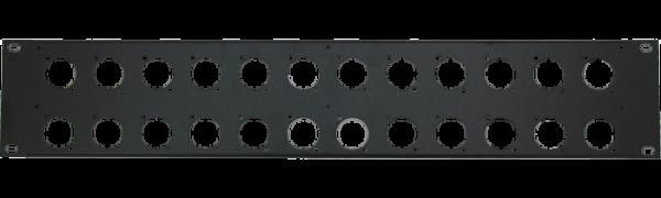 MTI Patch-Panel, 24 Bohrungen - D-Serie