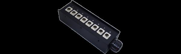 Stagebox 8x XLR-male, TL25 female