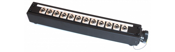 Stagebox 12x XLR-male, TL37 female