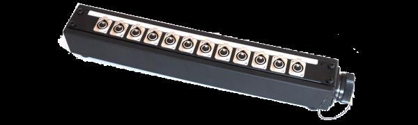 Stagebox 12x XLR-fem., TL37 male