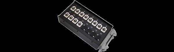 Stagebox 12x XLR-fem., HAN40 male