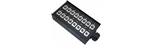 Stagebox 12x XLR-fem./4x XLR-male, TL54 male