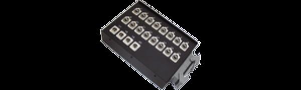 Stagebox 16x XLR-fem./4x XLR-male, HAN64 female