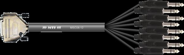 MTI Analog-Loom, D-Sub 25p. male/8x Klinke 3p. sw.