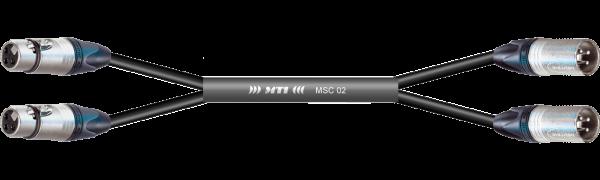 MTI Analog-Loom, XLR-fem./male 3p., 2Ch.