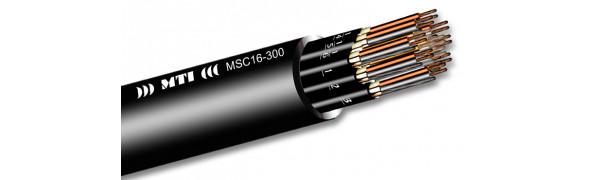 MTI Prof. Audio-Multicore, 16x2x0,22 mm², sw
