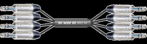 MTI Analog-Loom, Klinke/Klinke 3p., 4Ch.