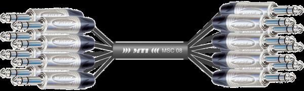 MTI Analog-Loom, Klinke/Klinke 3p., 8Ch.