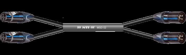 MTI First Class Digital-Loom, XLR-fem./male 3p., 2 Ch., sw