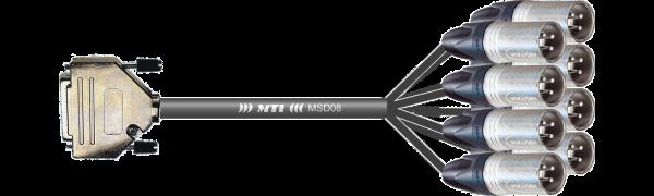 MTI Digital-Loom, D-Sub-male 25p./Neutrik XLR-male, APO