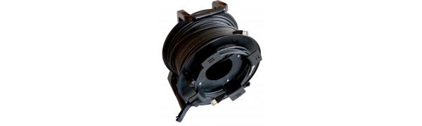 MTI CAT7 Ethernet-Kabel, 2x RJ45, Trommel/Wickelkopf