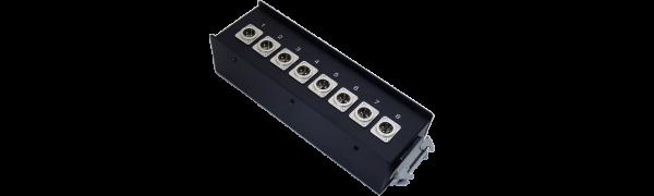 Stagebox 8x XLR-male, HAN24 female