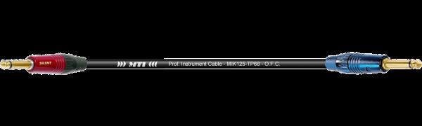))) MTI ((( VIRGIN-ROCK-CABLE, Neutrik-Silent-Kl./Klinke, sw., Goldkte.