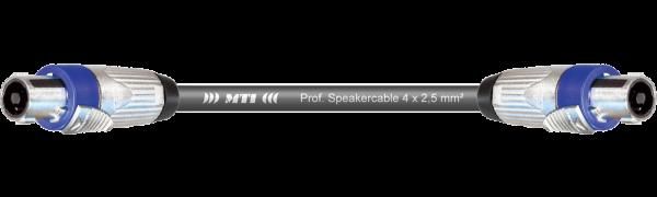 MTI Speakercore, 4x2,5mm², Speakon, Metall
