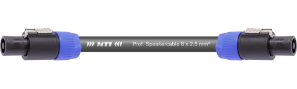 MTI Speakercore, 8x 2,5mm², Speakon 8pol.