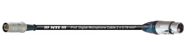 MTI Digital Midi-Cable, DIN 5p./XLR 3p. fem.