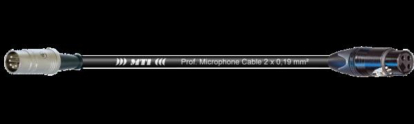 MTI Digital Midi-Cable, DIN 5p./XLR 3p. fem. Goldkontakt