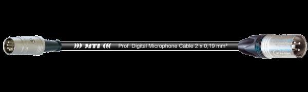 MTI Digital Midi-Cable, DIN 5p./XLR 3p. male