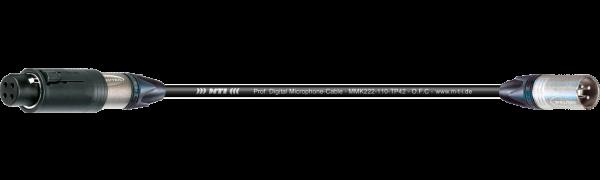 MTI Digital Micro-Cable, XLR-ConvertCon/male 3p.