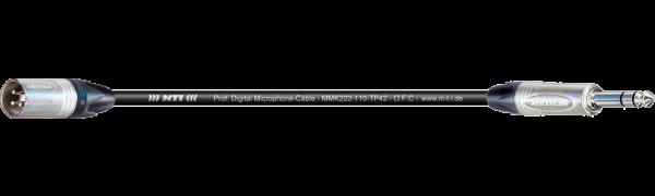 MTI Digital Micro-Cable, XLR-male/Klinke 3p.
