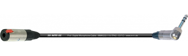 MTI Digital Micro-Cable, Kl.-Buchse/W.-Klinke 3p.