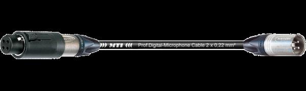 MTI Digital Audio-Adapter, XLR-ConvertCon/male 3p., 0,2 m